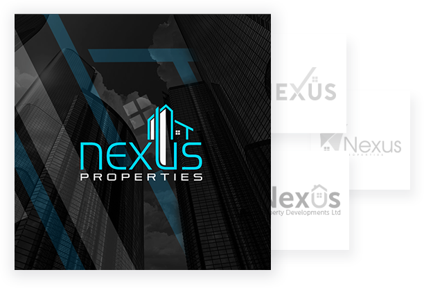 Custom Logo Design Portfolio - Nexus Property