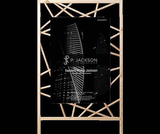 P Jackson - Stationery Design Case Study