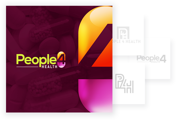 Coporate Logo Designs - People 4 Health