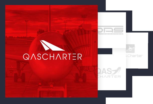 Logo Branding - Qas Charter