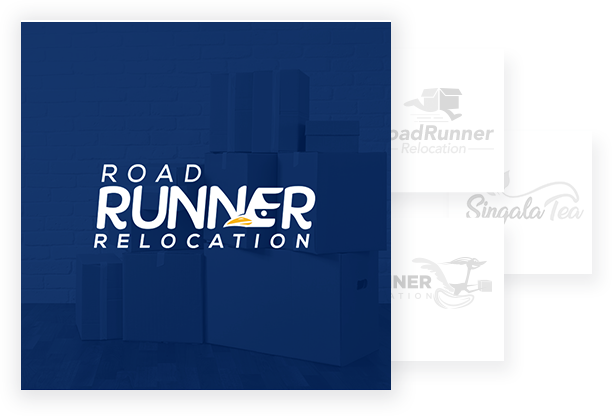 Professional Logo Designs - Road Runner