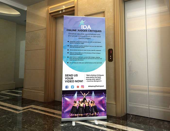 Event Pull-up Banner