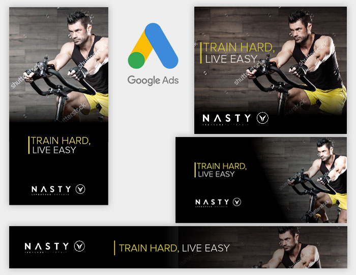 Fitness Google Ads