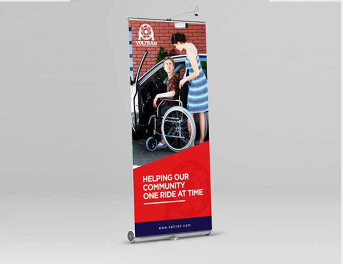 Helping Pull-up Banner