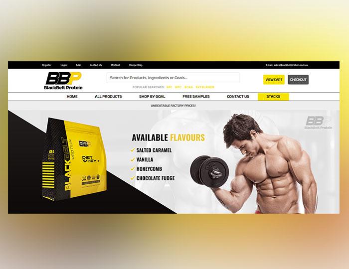 Protein Website Banner