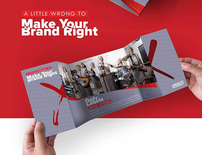 Double-Gate Fold Brochure Design