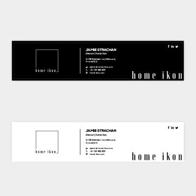 Custom Email Signature Design Services│BrandsDesign