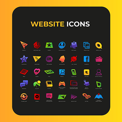 Colorfull Website Icon