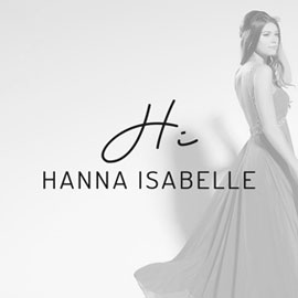 Best Beauty Logos - Hanna Isabelle