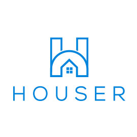 Best Real Estate Logos - Houser