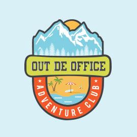 Out De Office Adventure Club - Logo Design Portfol