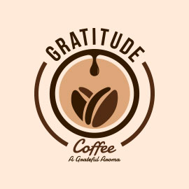 Top Restaurant Logos - Gratitude Coffee