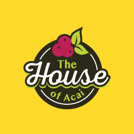 Best Restaurant Logos - The House of Acai