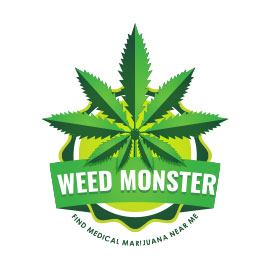 Health and Fitness Logos - Weed Monster