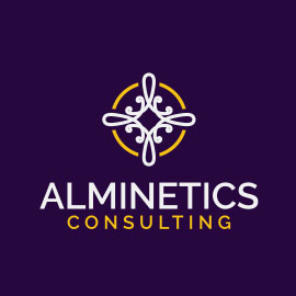 Law Logo Designs - Alminetics Consulting