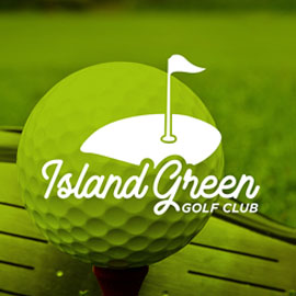 Sports Logos - Island Green Gold Club
