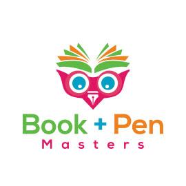 Technology Logo Designs - Book + Pen Masters