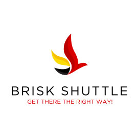 Travel Logo Designs - Brisk Shuttle