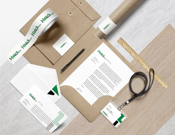 Consulting Stationery Design