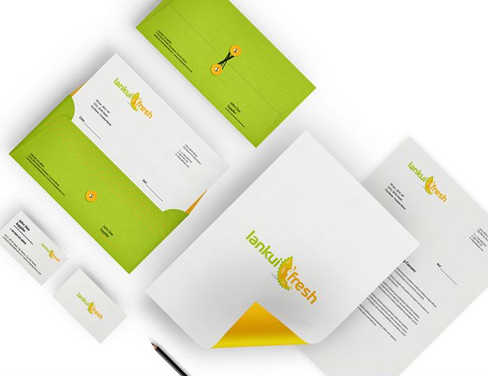 Juice Stationery Design