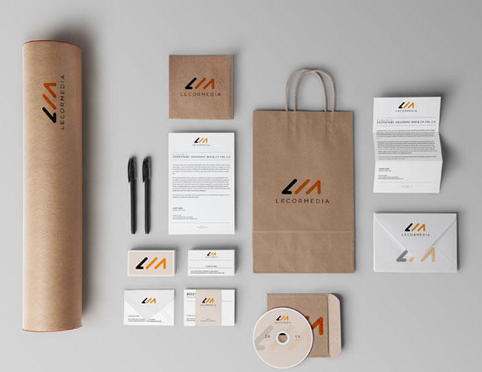 Media Stationery Design
