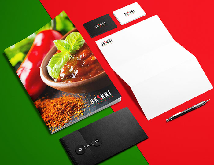 Restaurant Stationery Design