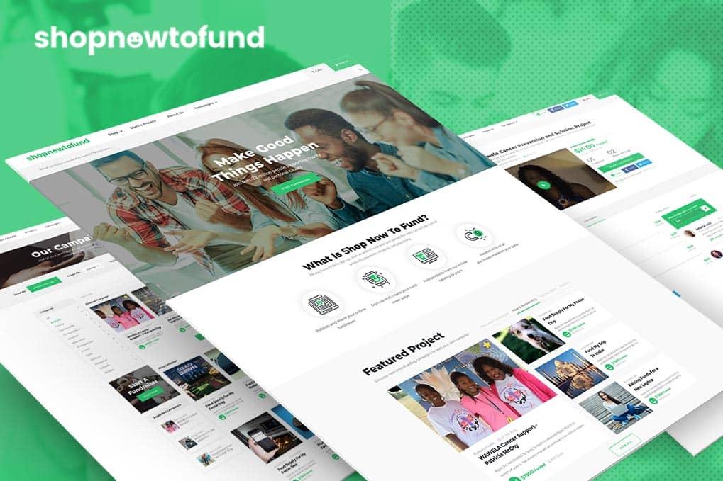 Funding Website Design