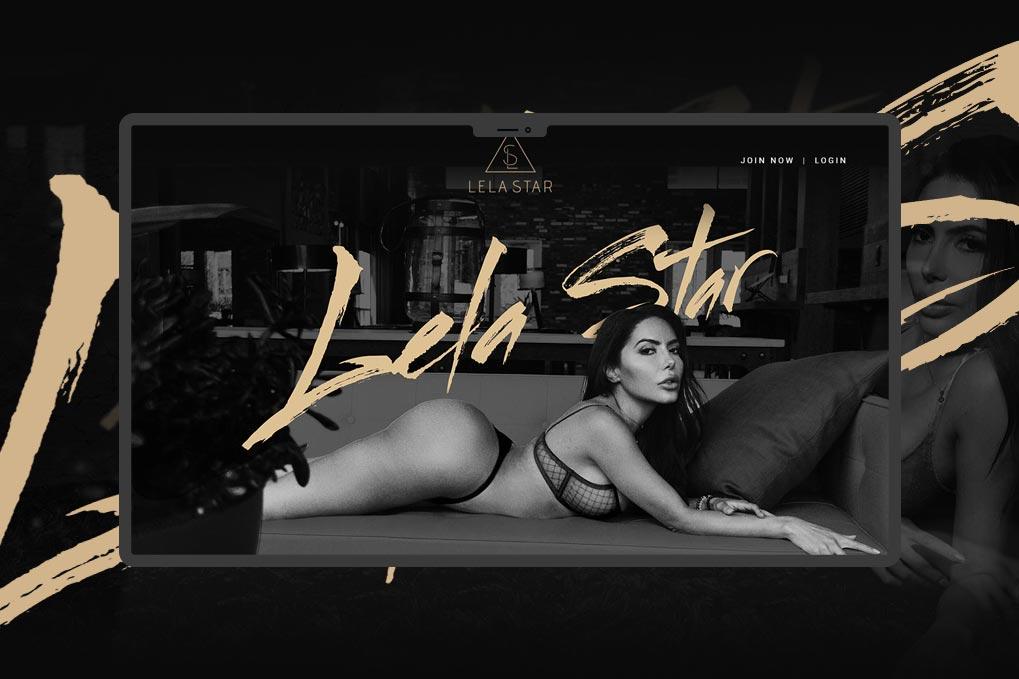 Porn Star Website Design