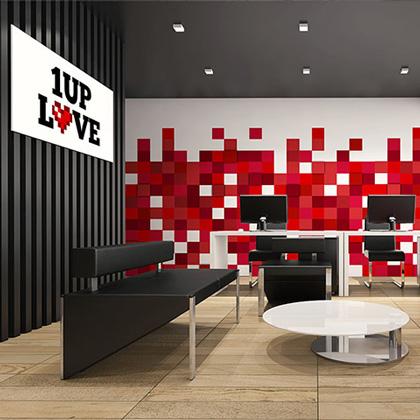 1 Up Love - Branding
