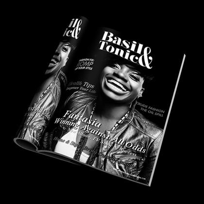 Basil and Tonic - Magazine Print Design