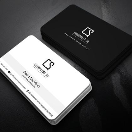 Coorparoo Sq - Event Card Design