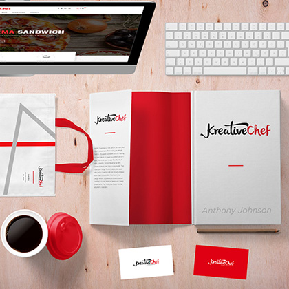 Kreative Chef - Logo Design