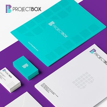 Project Box - Letterhead Design